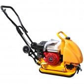 Виброплита Skiper С90 87 кг двигателем Honda (бак, коврик, колеса)