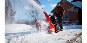 Видео работы снегоуборщика