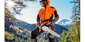 Видео|Защитная одежда против бензопилы.