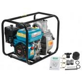 Мотопомпа бензиновая ECO WP-703C (для слабозагрязненной воды, 4/9 кВт, 700 л/мин)