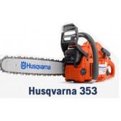 Бензопила Husqvarna 353 2,4 кВт, профессиональная. Швеция