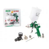 Краскораспылитель ECO SG-9500 с манометром (HVLP, сопло ф 1.4, 1.7 мм, верх. бак 600 мл)