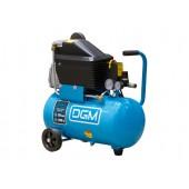 Компрессор DGM AC-127 235 л/мин, 8 атм, 24 л, 220 В, 1.50 кВт