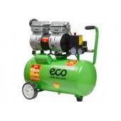 Компрессор ECO AE-25-OF1 безмасляный, 24 л, 220 В, 0,8 кВт
