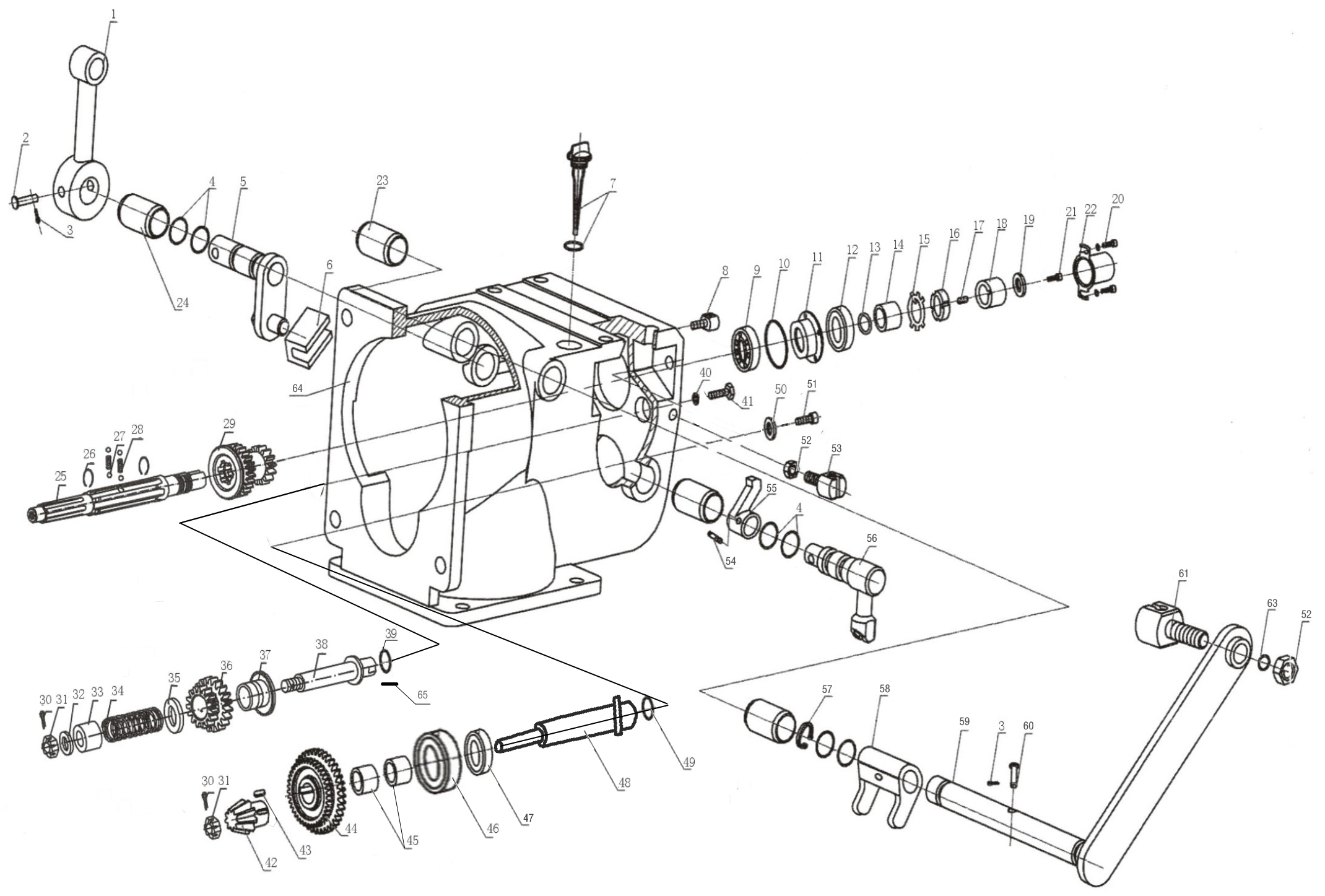 Схема коробки передач мотоблока фото 319